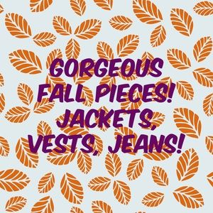 So many versatile Fall pieces in my closet!